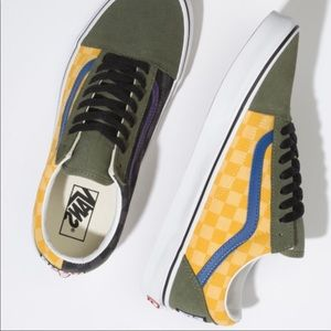 Ⓜ️VANS OLD SKOOL OTW RALLY CHECKER DEEP LICHEN GRE